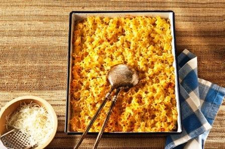 Κοφτό μακαρονάκι στο φούρνο με τυριά
